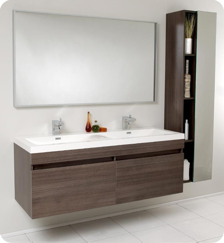 Stylish Bathroom Sink Cabinets Modern Modular Bathroom Vanities Modern Los Angeles Sink Cabinets With