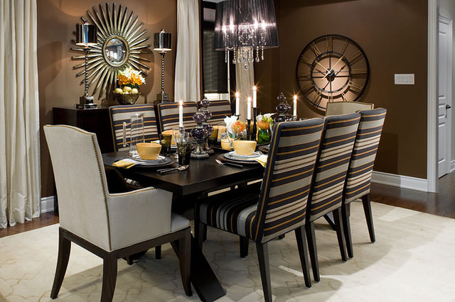 Stylish Black And Brown Dining Room Sets Black And Brown Dining Room Sets 17605