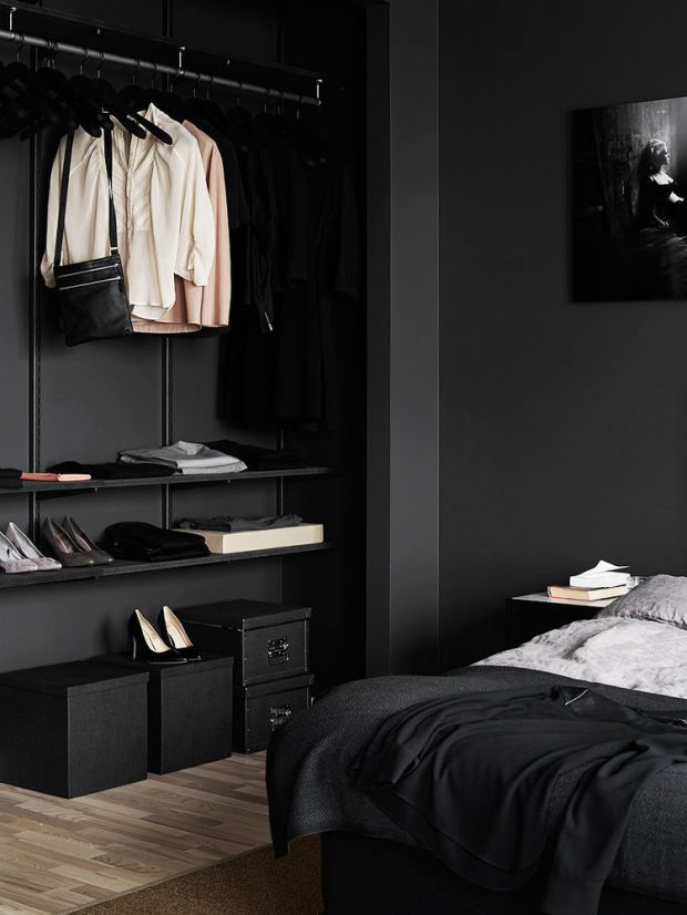 Black Bedroom Design | ModernFurniture Collection