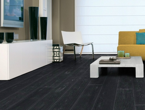 Stylish Black Vinyl Flooring Black Vinyl Flooring Planks Flooring Design