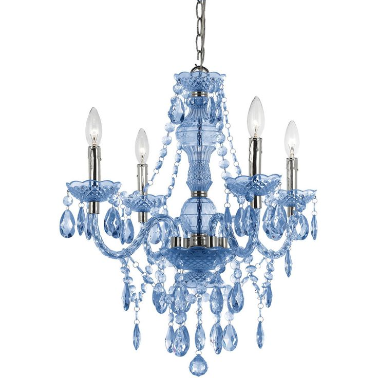 Stylish Blue Crystal Chandelier Light Best 25 Blue Chandelier Ideas On Pinterest Simple Chandelier