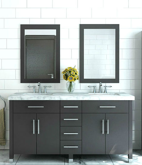 Stylish Contemporary Bathroom Cabinets Modern Bathroom Vanities And Cabinets Bathgems