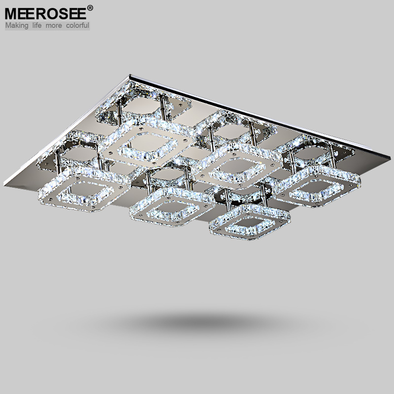 Stylish Contemporary Crystal Ceiling Lights Modern Led Diamond Crystal Ceiling Light Fitting Crystal Lamp For