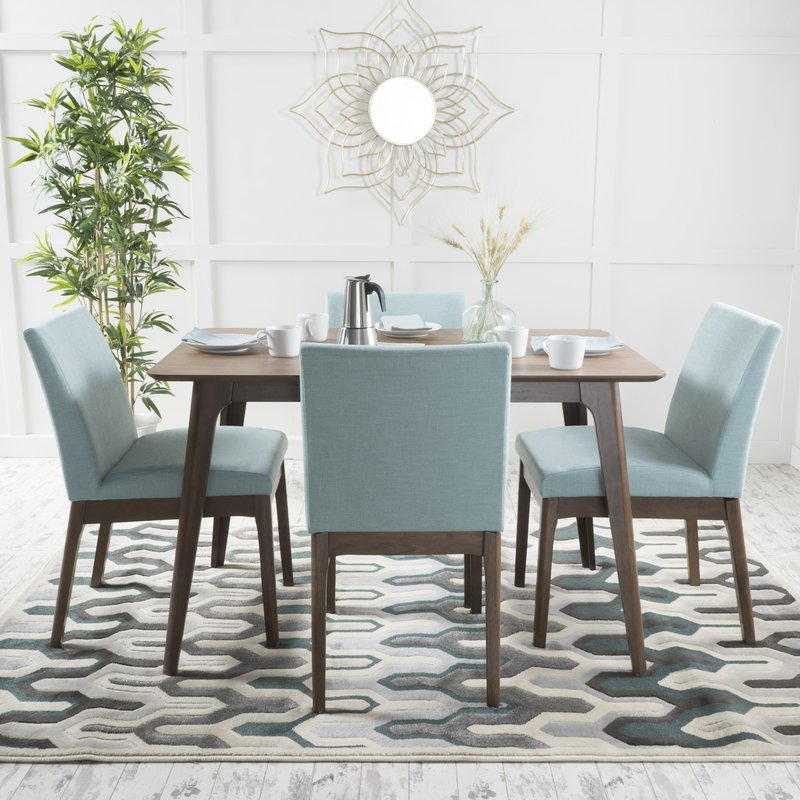 Stylish Contemporary Dining Table And Chairs Modern Contemporary Dining Room Sets Allmodern