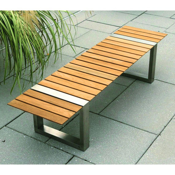 Stylish Contemporary Garden Bench Garden Bench Contemporary Wooden Boca Cristian Wicha