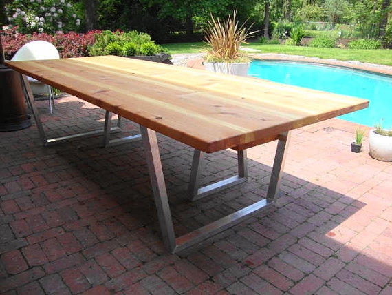 Stylish Contemporary Outdoor Table Remarkable Modern Outdoor Table Modern Outdoor Dining Table And