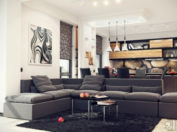 Stylish Contemporary Style Living Room Apply Contemporary Style In The Living Room Adorable Home