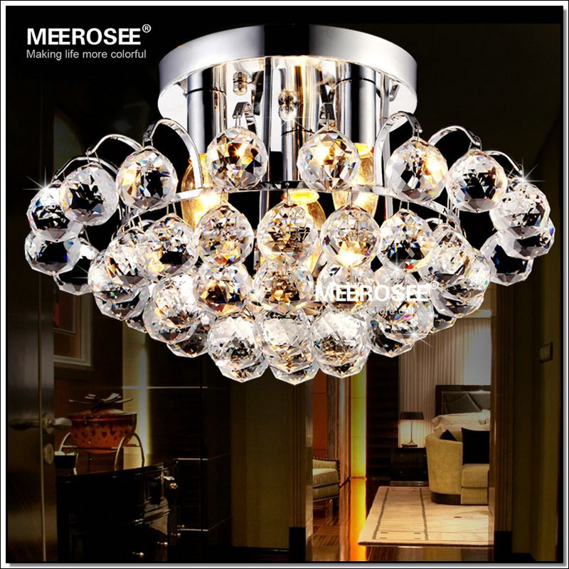 Stylish Fancy Light Fixtures Beautiful Crystal Decoration Ceiling Lights For Bedroom Fancy
