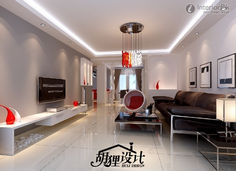 Stylish Front Room Ceiling Lights Elegant Modern Lighting Part 5