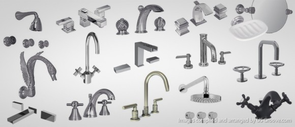 Stylish High End Bath Fixtures Watermark Designs High End Bathroom Hardware Us Groove