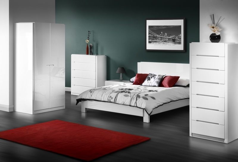 Stylish High Gloss Bedroom Furniture Decorate White Gloss Bedroom Furniture Editeestrela Design