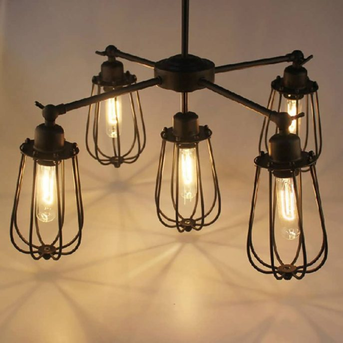 Stylish Industrial Chandelier Lighting Chandelier Industrial Chandelier Lighting Rustic Pendant