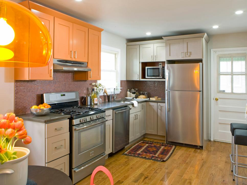 Stylish Kitchen Remodel Ideas 20 Small Kitchen Makeovers Hgtv Hosts Hgtv