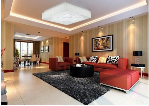 Stylish Led Living Room Lights 12 Enticing Led Lighting In Living Room That Will Steal The Show