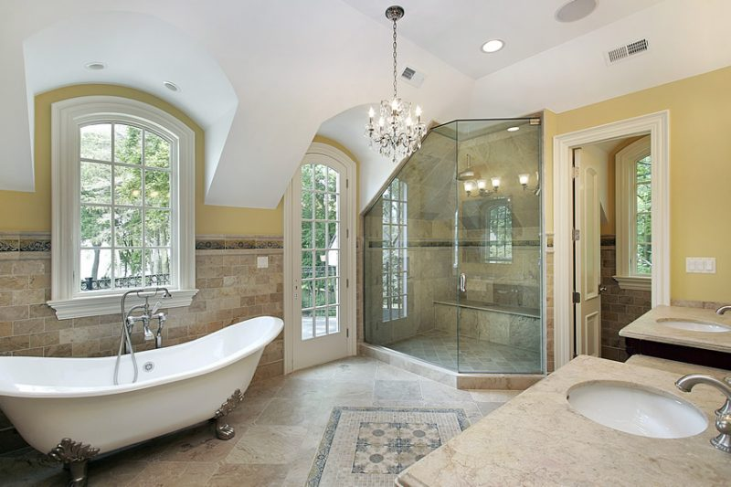 Stylish Luxury Bath Ideas 57 Luxury Custom Bathroom Designs Tile Ideas Designing Idea