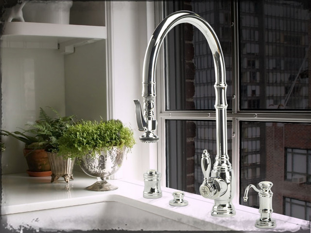 Stylish Luxury Kitchen Faucets Waterstone High End Kitchen Faucets Clarke Living