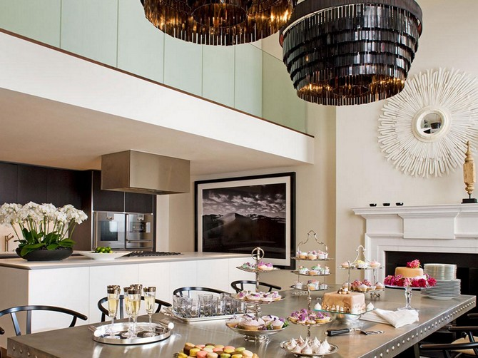 Stylish Luxury Kitchen Lighting Top Luxury Kitchen Lighting For A Dinner Party