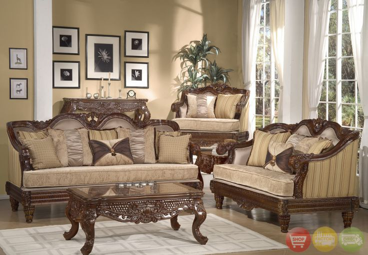 Stylish Luxury Traditional Living Room Furniture Formal Luxury Sofa Set Traditional Living Room Furniture Living