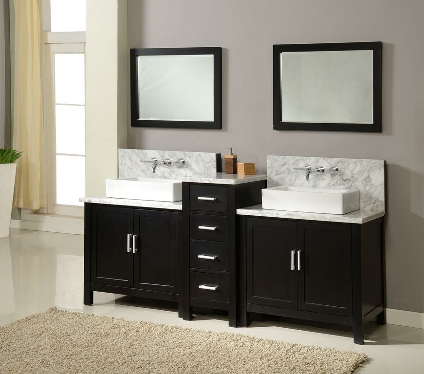 Stylish Modern Bathroom Vanity Base Appealing Double Vanity Base Cabinet And Double Sink Vanity