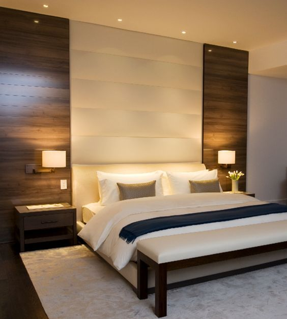 . Wonderful Modern Bed Back Wall Designs Forma Design Love The White