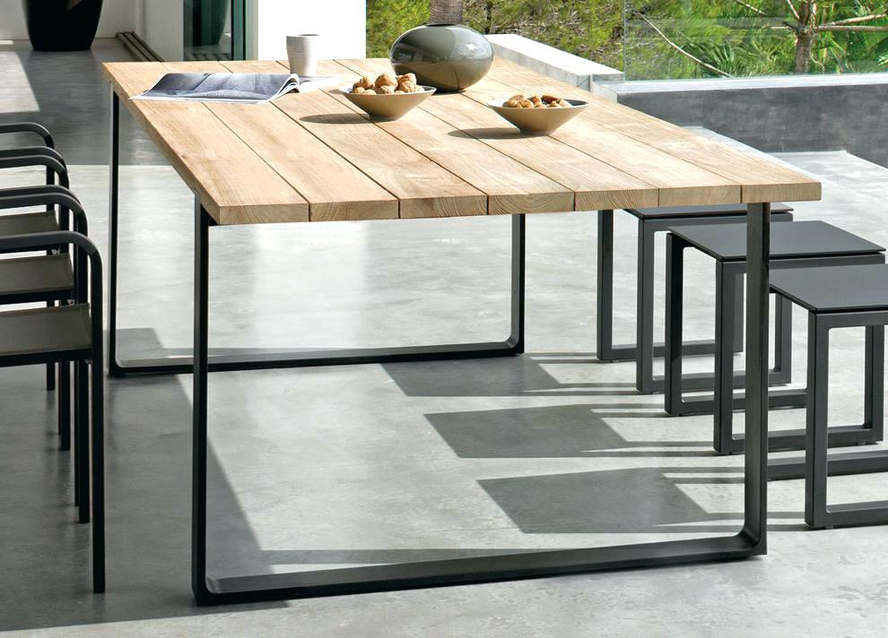 Stylish Modern Garden Table Modern Garden Furniture Sdgtracker