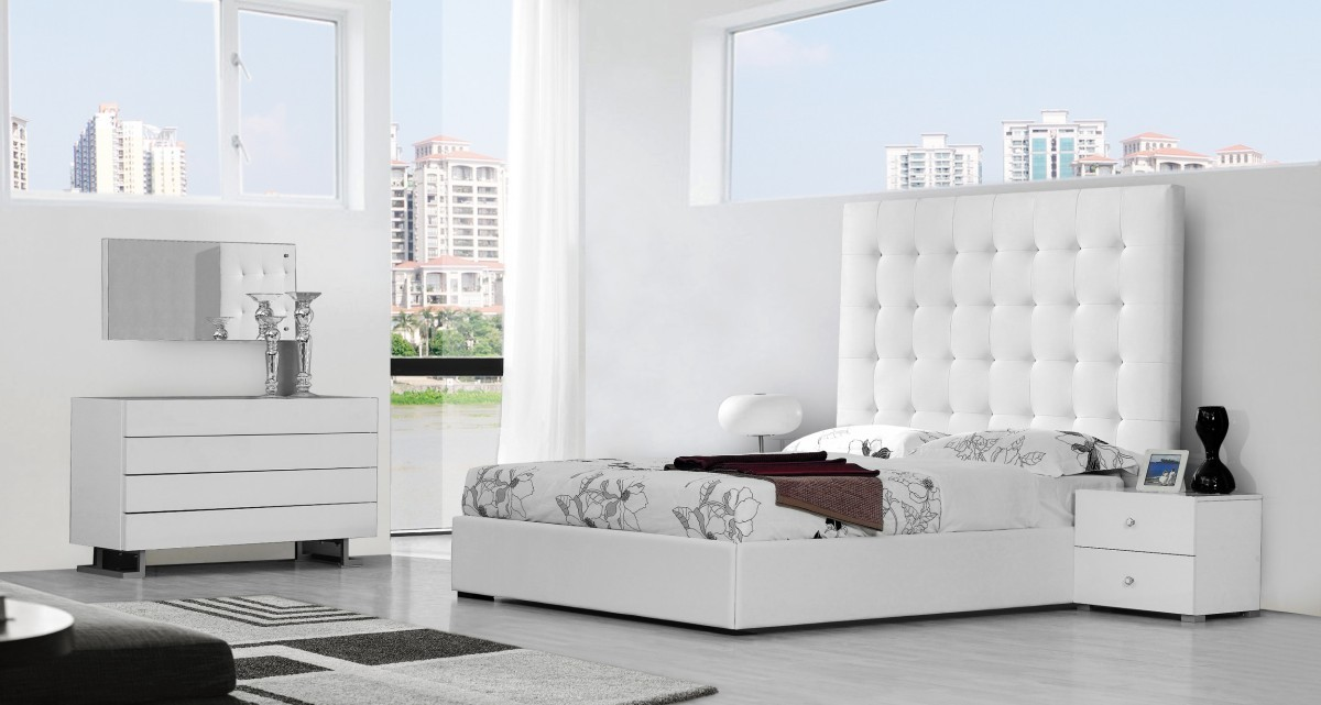 . Stunning Modern White Bedroom Home Furnitures Sets Modern White Grey