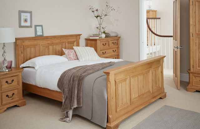 Stylish Oak Furniture Land Edinburgh Solid Oak Bedroom Traditional Bedroom Wiltshire