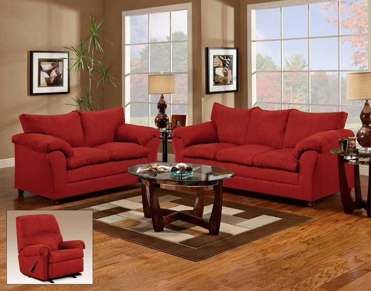 Red Living Room Furniture | ModernFurniture Collection
