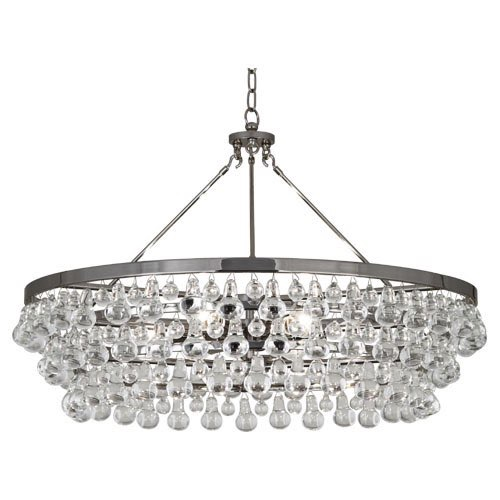 Stylish Robert Abbey Bling Chandelier Robert Abbey Lighting S1004 Bling Chandelier