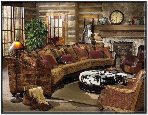 Stylish Western Living Room Furniture Ealing Rustic
