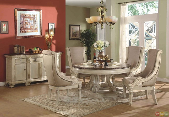 Stylish White Dining Room Sets Formal Formal Round Dining Room Sets Brilliant Antique White Dining Table