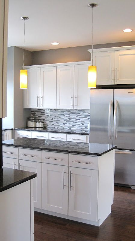 Stylish White Kitchen Cabinets White Kitchen Cabinets Grey Countertops Google Search Kitchen