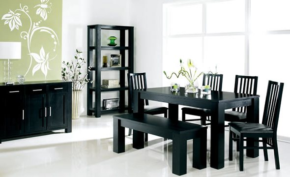 Unique Black Dining Room Table And Chairs Popular Of Black Dining Room Tables With Dining Room Black Table