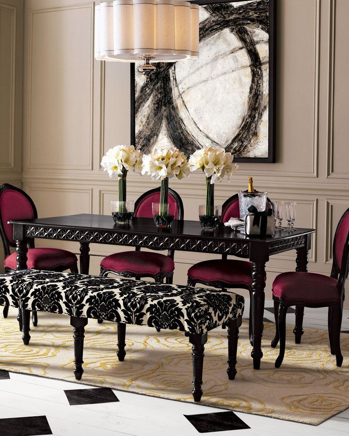 Unique Black Formal Dining Room Table Best 25 Black Dining Room Sets Ideas On Pinterest Black Dining