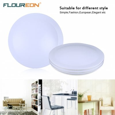 Unique Bright Ceiling Light Floureon24w Round Led Ceiling Light85 260v6000 6500k Bright