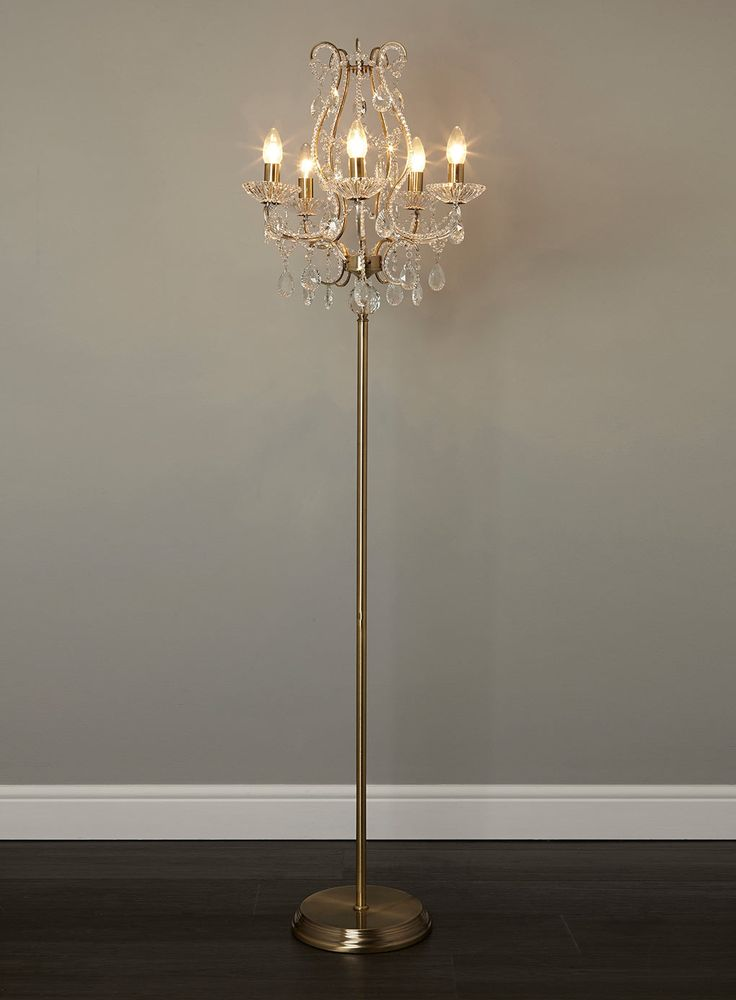 Unique Chandelier Floor Lamp Floor Lamp Chandelier Lamps Inspire Ideas