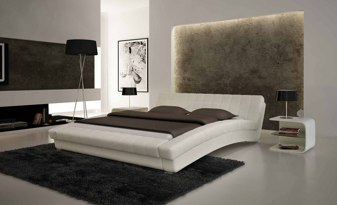 Unique Contemporary Italian Beds Fancy Bedroom Furniture Modern Set