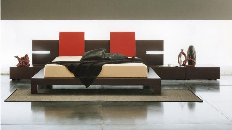 Unique Contemporary Platform Bed Sets Win Stylish European Contemporary Platform Bed 248500 Bedroom Sets