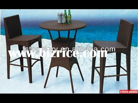 Unique High Top Patio Furniture High Top Patio Furniturehigh Top Patio Table And Chairs Youtube