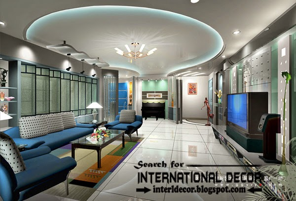 Unique Interior Design Ceiling Lights Led Ceiling Lights Led Strip Lighting Ideas In The Interior