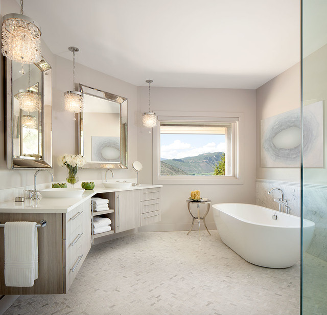 Unique Luxury Bath Vanities Luxury Bathrooms Transitional Bathroom Denver In Your