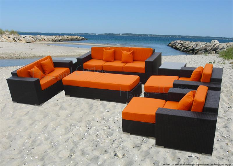 Unique Luxury Lawn Furniture Catchy Luxury Patio Furniture Wicker Sectional Sofa Set Patio