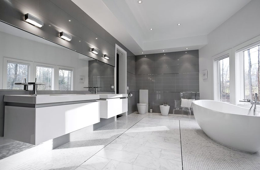 Unique Modern Bathroom With Tub 40 Modern Bathroom Design Ideas Pictures Designing Idea