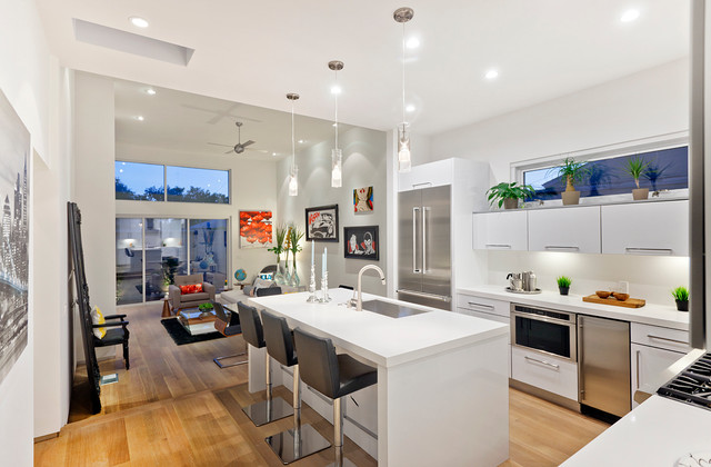 Unique Modern Kitchen Interior Design Modern Kitchen Interior Houzz