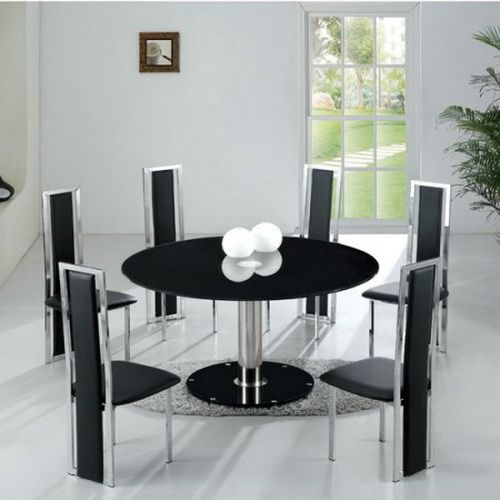 Unique Modern Round Dining Table For 6 Modern Round Dining Table Set For 6 Ideas Table Ideas Round Dining