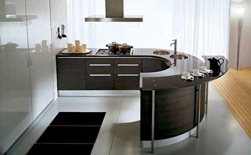 Unique New Modern Kitchen Design Architecture And Home Design Round Modern Kitchen