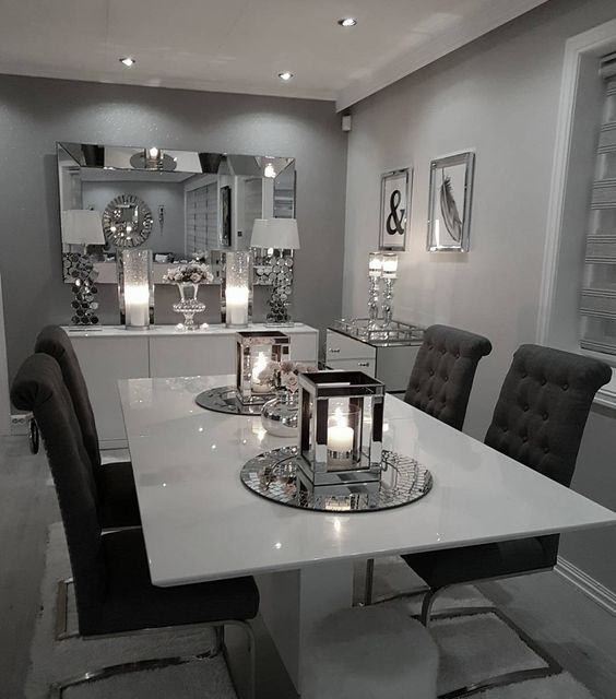 Unique White Dining Room Decor Dining Room Gorgeous Modern Dining Room Wall Decor Ideas Dinning