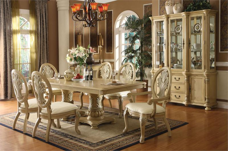 Unique White Dining Room Sets Formal Vintage Dining Room Set White Sets Formal Interior Design 13