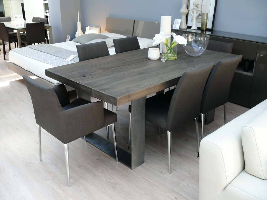 Unique Wood Dining Room Table Sets Solid Tops Round Kitchen