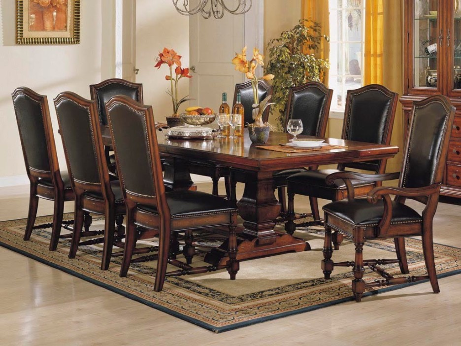 Wonderful Black And Brown Dining Room Sets Dining Room Retro Formal Dining Room Design With Rectangular